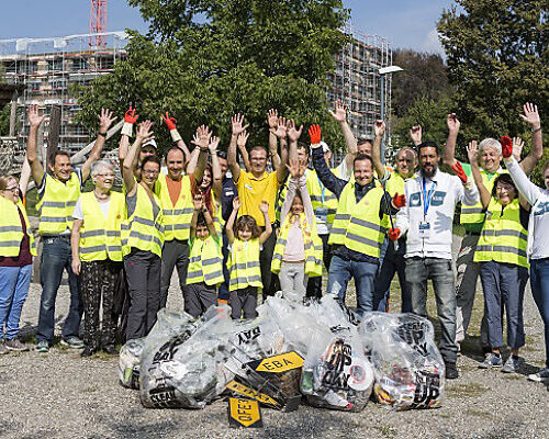 This year's Clean-Up-Day breaks record