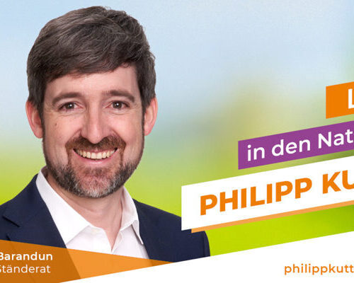 Philipp Kutter re-elected to the National Council